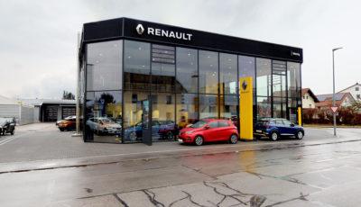 RENAULT Autohaus Wenig 3D Model